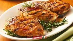 طريقة عمل دجاج مشوي بالريحان للرجيم