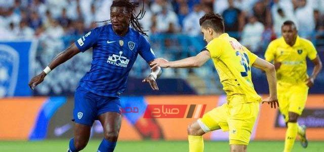 نتيجة مباراة الهلال والتعاون الدورى السعودي موقع صباح مصر