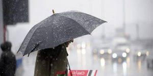 الطقس في الإسكندرية الآن هطول أمطار غزيرة ورياح شديدة وانخفاض فى درجات الحرارة