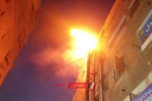 نشوب حريق داخل شقة سكنية فى منطقة العجمي فى الإسكندرية