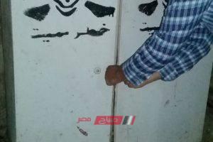 محلية دمنهور تستجيب لشكاوى المواطنين وتعلن تغطية لوحه كهرباء بدون غطاء
