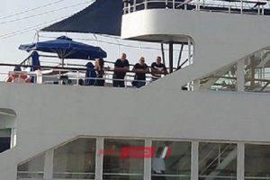 بالصور الإسكندرية تستقبل أول سفينة سياحية من قبرص على متنها 500 سائح