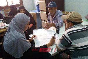 نائب رئيس محلية كفر سعد يتفقد سير العمل بمركز الغسيل الكلوي بالمرابعين