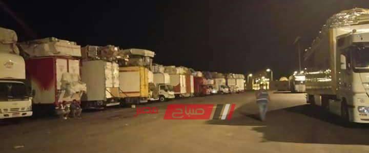 منع 25 سيارة مصرية محملة بالأثاث الدمياطي من العبور إلى دولة السودان