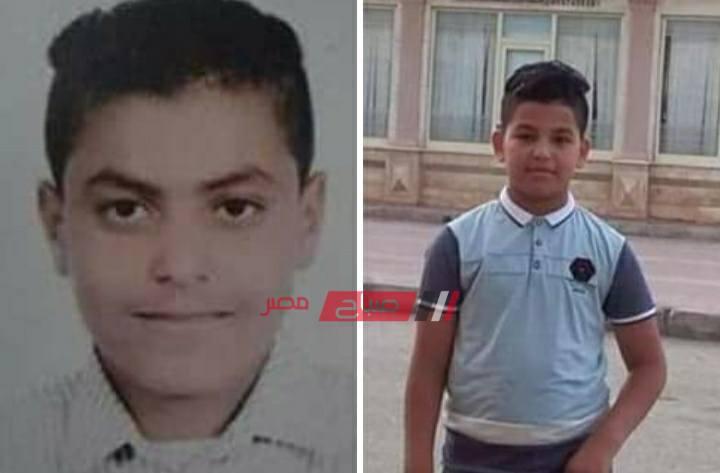 الطفلان المتوفيان في حادث غرق رأس البر