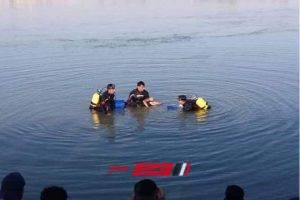 بالاسم انتشال جثة شاب من مياه نهر النيل بدمياط