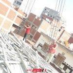 بالصور إيقاف أعمال بناء مخالف بحي المنتزه بالإسكندرية