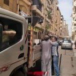 رفع 289 حالة اشغال بشوارع البحيرة في حملة مكبرة