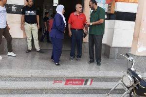 رئيس محلية كفر سعد يتفقد مستشفى الطوارئ لمتابعة سير العمل
