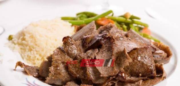 طريقة عمل شاورما اللحم على الطريقة التركية