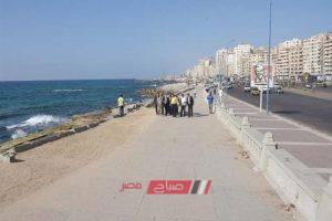 ضبط 36 مخالفة فى حملة على كافيهات كورنيش الإسكندرية