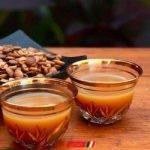 طريقة عمل القهوة العربية بالزعفران