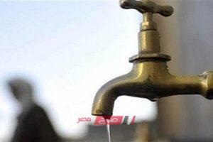 انقطاع مياه الشرب عن عدة مناطق في محافظة الإسكندرية غداً الجمعة – تعرف عليها