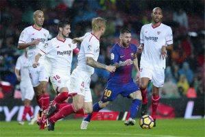 نتيجة مباراة برشلونة وإشبيلية فى الدوري الاسباني