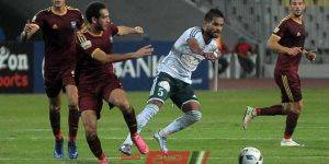 مباراة مصر المقاصة والمصري