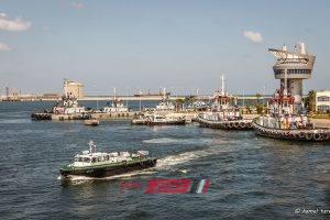 بالرغم من سوء الأحوال الجوية ميناء دمياط يستقبل 8 سفن حاويات وبضائع