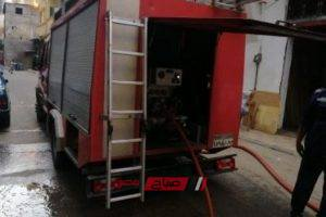 إنذار بنشوب حريق فى كارفور محرم بك في الإسكندرية
