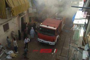 نشوب حريق داخل شقة سكنية بسبب تسرب الغاز بالإسكندرية