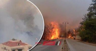إلياس بو صعب: الدفع بطائرتين يونانيتين وفرق متخصصة لإخماد حرائق بيروت