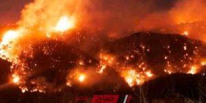 حرائق لبنان