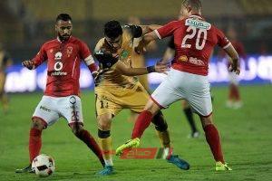 نتيجة مباراة الأهلي والانتاج الحربي الدورى المصرى