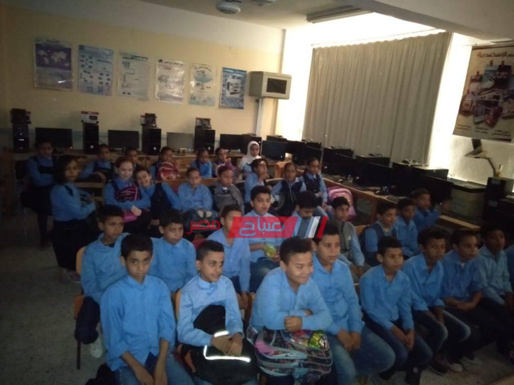 انتظام الدراسة بمدارس محافظة الإسكندرية بمدارس الفترتين صباح اليوم السبت