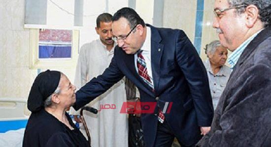 خروج 16 حالة من مصابي حادث اتوبيسين برج العرب بالإسكندرية