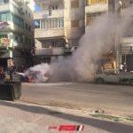 بالصور إخماد حريق نشب في مركبة بخارية بدمياط دون إصابات