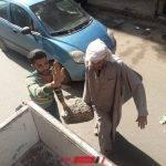 ازالة حجر يعيق المارة بعد اصابة شخص بالبحيرة في استجابة للمواطنين