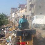 رفع 6 طن قمامة في حملة مكبرة بقرية زاوية غزال بالبحيرة