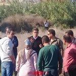 إزالة تعديات على أملاك الدولة بمساحة 2 فدان و 10 قيراط بقرية جمصة بدمياط ضمن الموجة الـ 14