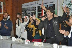 المطرب محمد صلاح يحيي حفلاً بجامعة المنيا