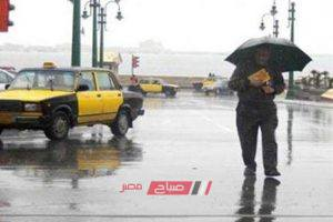الطقس في الإسكندرية الآن تساقط أمطار غزيرة وانخفاض درجات الحرارة