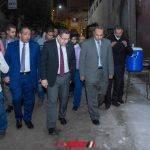 تشكيل لجنة لمعاينة العقار المائل بحى الجمرك بالإسكندرية