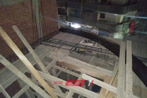 حملات مكثفة لإيقاف أعمال بناء عقارات مخالفة في حي المنتزه