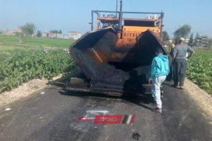 رئيس محلية دمنهور يعلن رصف طريق عزبة الثلاثين