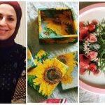 ريهام مكاوي تحول الأثاث والاكسسوارات المنزلية القديمة إلى تحف فنية