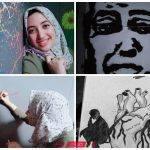من الأزهر للفن التشكيلي سوما السيد موهبة صاعدة تحلم بنشر الجمال في شوارع الإسماعيلية