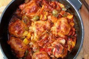 طريقة عمل دجاج بالبصل