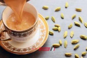 طريقة عمل شاي بالحليب والحبهان