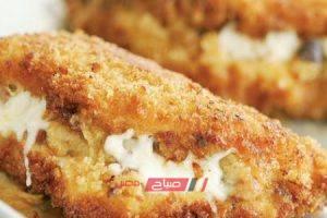 طريقة عمل صدور الدجاج المحشية بالجبن