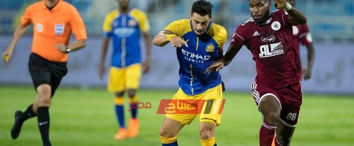 ملخص مباراة النصر والفيصلي الدوري السعودى