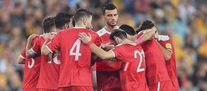 ملخص مباراة سوريا والفلبين تصفيات اسيا