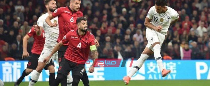 ملخص مباراة فرنسا وألبانيا تصفيات يورو 2020