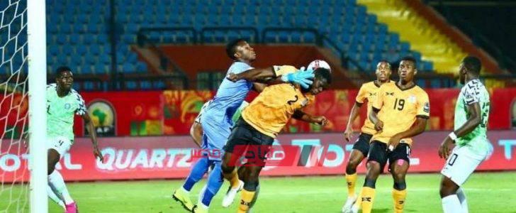 نتيجة مباراة نيجيريا وجنوب إفريقيا بطولة إفريقيا لأقل من 23 سنة