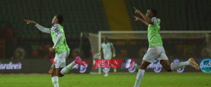 نتيجة مباراة نيجيريا وليسوتو كأس أمم أفريقيا