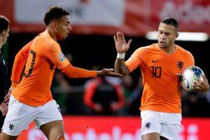 نتيجة مباراة هولندا وإيرلندا الشمالية تصفيات يورو 2020