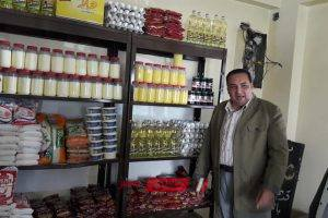 وكيل زراعة دمياط يعلن توفير المنتجات الغذائية بأسعار تنافسية بمنفذ اتحاد المجالس الزراعية