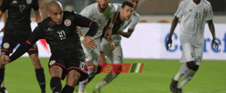 نتيجة مباراة تونس وليبيا كأس أمم أفريقيا 2021