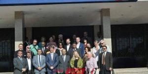 وفد جامعة هيلدسهايم الألمانية يزور جامعة المنيا